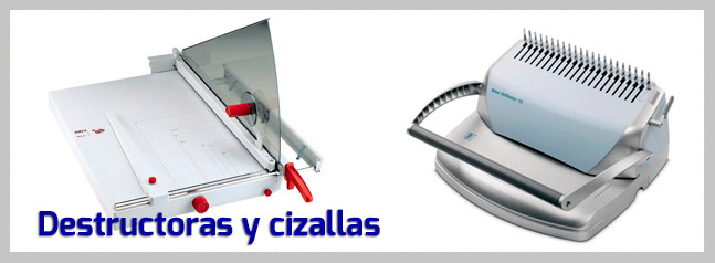 Destructoras y cizallas Macofi